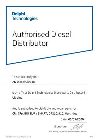 Authorised Diesel Distributor Delphi Technologies